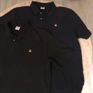 Brooks Brothers Black & Navy Shirt Bundle